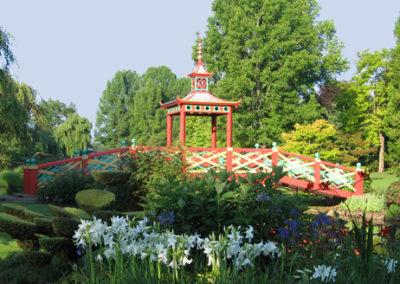 Pont Chinois - Parc floral d'Apremont