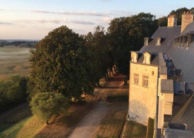 Vue château